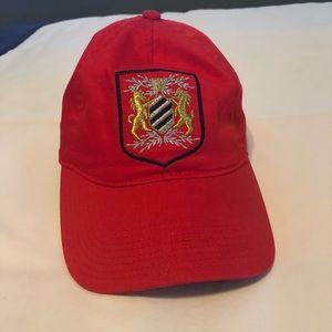J. Crew Red Baseball Hat